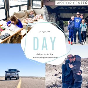 Fulltime RV Life- A typical day