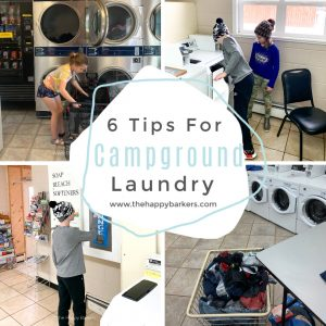 Campground Laundry- 6 tips to better laundry